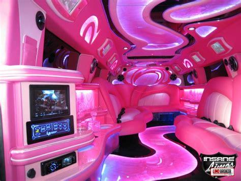 pink lamborghini limousine pink limos pink limousine hire
