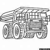 Coloring Excavator Digger Getdrawings sketch template