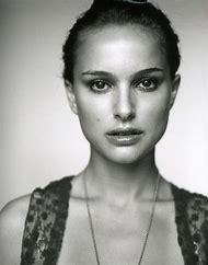 Natalie Portman Black and White