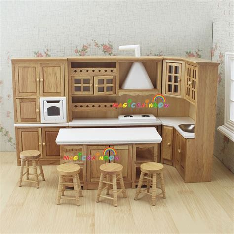 Aliexpresscom  Buy Doll House Kitchen Furniture Wooden