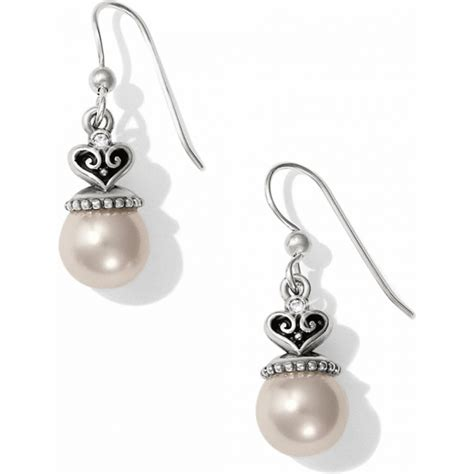 Alcazar Alcazar Pearl French Wire Earrings Earrings
