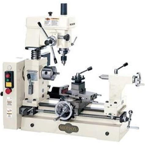 shop fox machinery  bench combo lathe mill metal