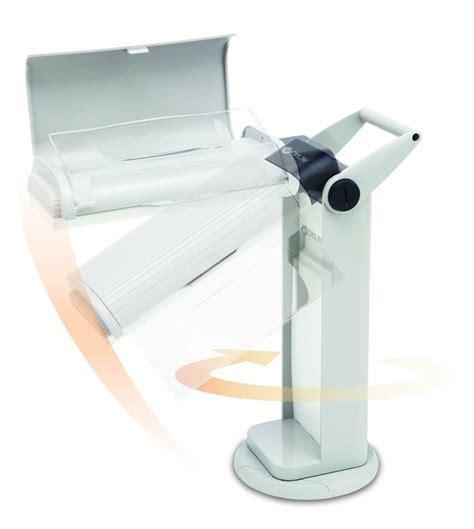ott light table l with magnifier ottlite otl13mag task l with swivel base and flip