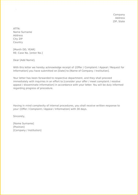 It focuses on providing lot of different templates you can use for different section of your writing. Acknowledgement Template - Collection - Letter Templates