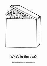 Box Colouring Easter Coloring Designlooter Bonnet sketch template