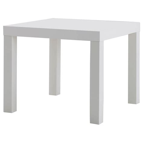 Lack Side Table White 55 X 55 Cm Ikea