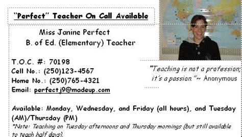Perfectteacher / Teacher-on-call Basics (
