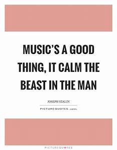 Music's a g... Manly Music Quotes