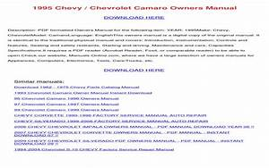 2007 Chevy Tahoe Owners Manual Pdf