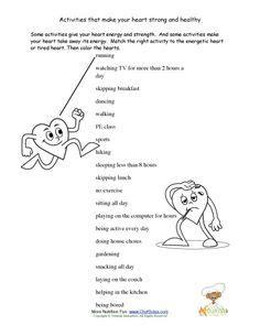 pe worksheets images primary school school
