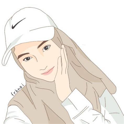 hijab drawing images  pinterest anime muslimah