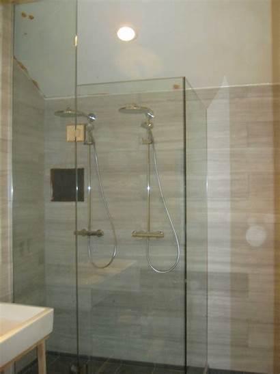 Ceiling Shower Glass Custom Enclosures Panel Hillcrest