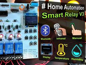How To Make Smart Home Using Arduino Control Relay Module