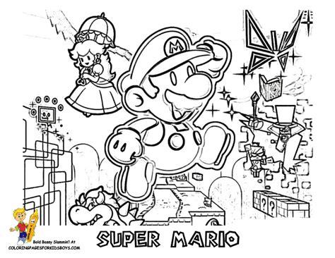Super Mario Bros  Free Coloring