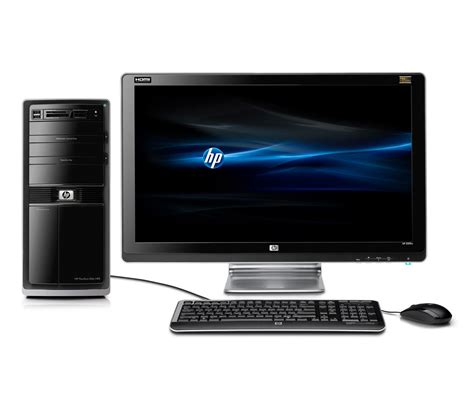 HP HP Pavilion P6387C-B Intel E6300 Dual-Core 2.8GHz 7GB 750GB DVDR/RW Win7 with 23