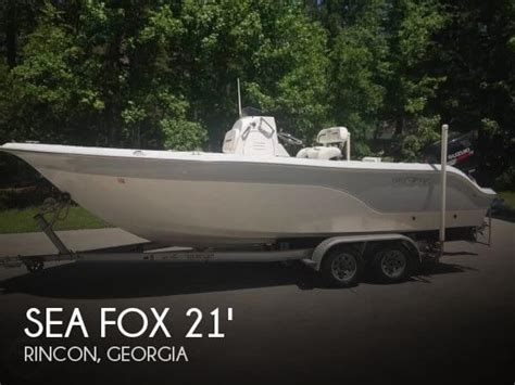 Sea Fox Boats For Sale In Ga by Sold Sea Fox 216 Cc Pro Series Boat In Rincon Ga 112201