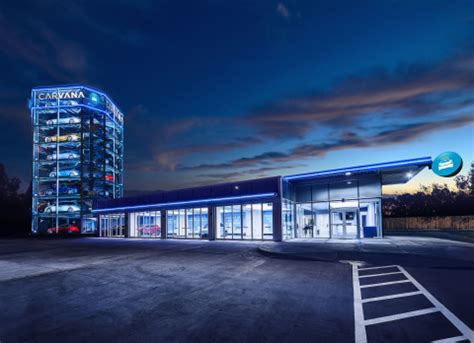 Carvana Opens Car Vending Machine In San Antonio The