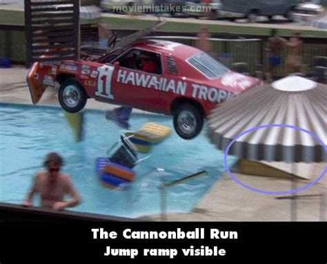 The Cannonball Run (1981) Movie Mistake Picture (id 1415
