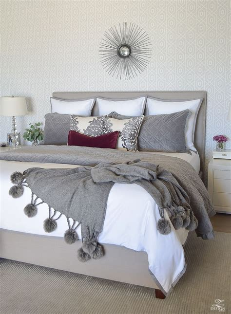 fallwinter master bedroom updates   home bloggers