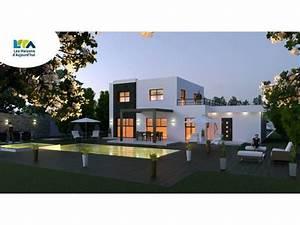 plan maison contemporaine 161m2 5 pieces 4 chambres garage With logiciel pour maison 3d 6 maison d architecte contemporaine maison moderne