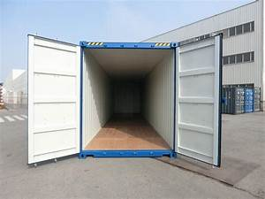40 Fuß Container In Meter : 40 fu high cube container blau ~ Whattoseeinmadrid.com Haus und Dekorationen