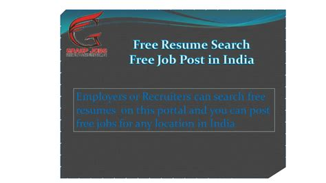 Best Resume Posting by Best Opening Resume Posting Site In India