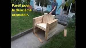 Fabriquer Une Chaise Longue by Facile Fabriquer Votre Fauteuil De Jardin Int 233 Rieur En