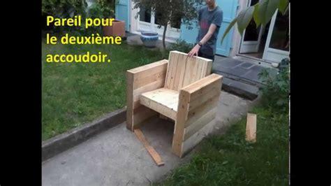 plan chaise de jardin en palette facile fabriquer votre fauteuil de jardin intérieur en