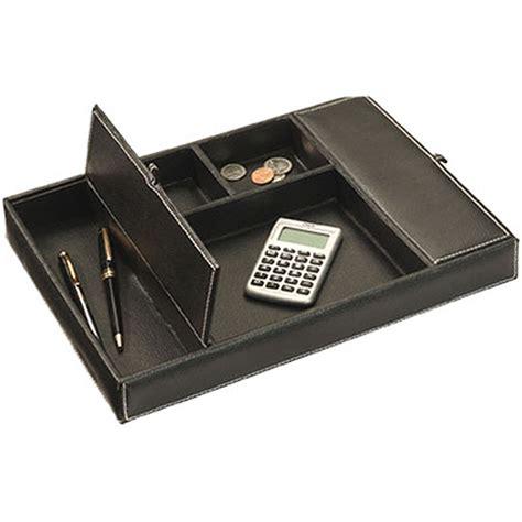 faux leather desk organizer faux leather dresser desk valet in desk accessories