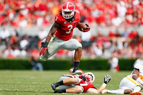report georgia rb todd gurley headed  nfl nfl