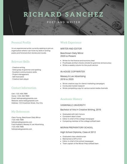 Scholarship Resume Templates by Customize 16 Scholarship Resume Templates Canva