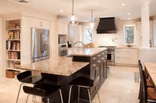 Kitchen Island Seats 6 30 Attractive Kitchen Island Designs For Remodeling Your Kitchen