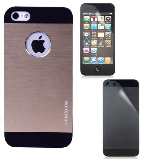 iphone 5g fuson luxury logo design metallic back cover for