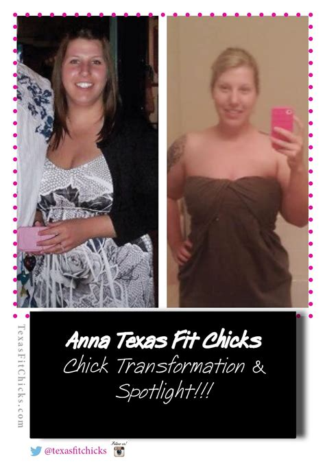 Chick Transformation: Anna Texas Fit Chicks Fit Chick