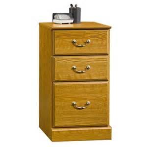 sauder 3 drawer pedestal file cabinet carolina oak