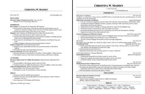 Proper Margins On A Resume by 17 Ways To Make Your Resume Fit On One Page Findspark