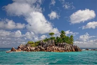 Exotic Tropical Beach Island Nature Landscape Seychelles