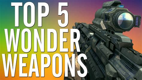 bo2 zombies weapons wonder guns waw different