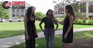 VIDEO: 'Beating up fascists is good,' students say