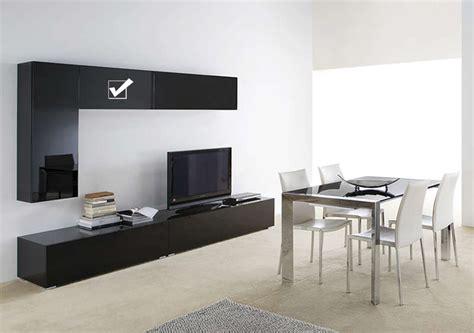 meuble tv mural blanc horizontal up s