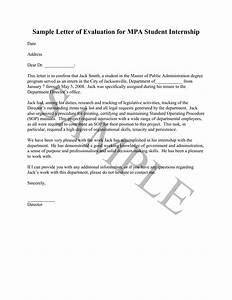 Best Photos of Students Evaluation Letter Sample  Intern Evaluation Letter Sample, Medical