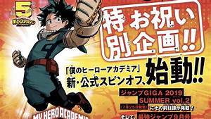 My, Hero, Academia, Receives, New, Spin-off, Manga, U0026quot, Team, Up, Missions, U0026quot