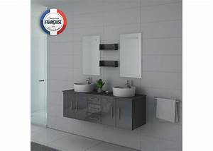 Meuble Double Vasque Gris Meuble Suspendu Double Vasque