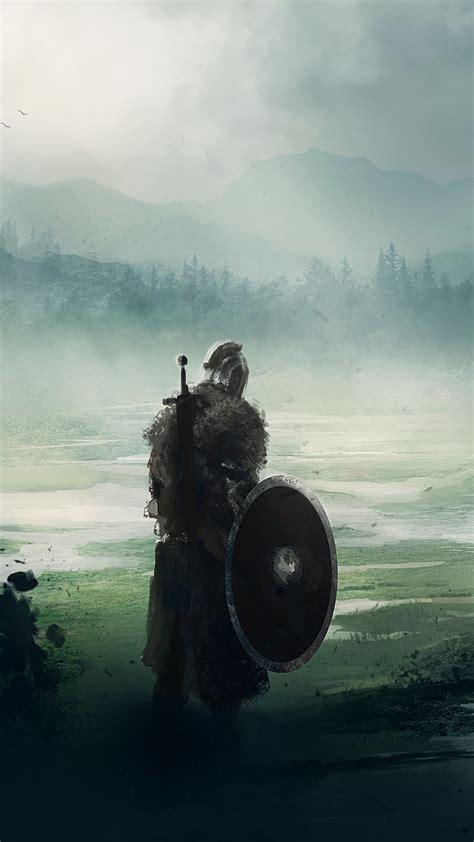 wallpaper dark souls fan art warrior  art
