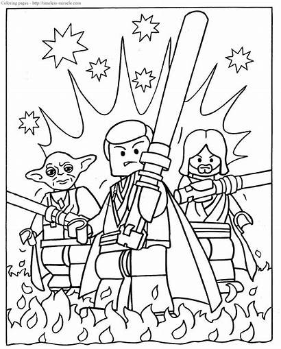 Wars Lego Coloring Star Pages Timeless Printable