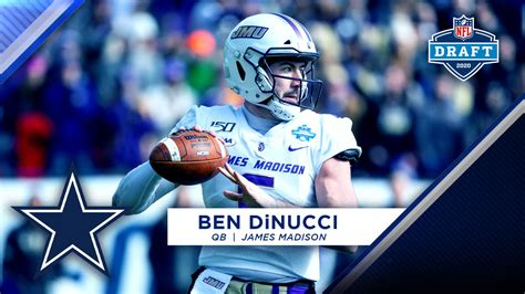 pitt james madison qb ben dinucci selected