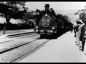Train à L Arrivée : l 39 arriv e d 39 un train la ciotat 1896 auguste lumi re and louis lumi re youtube ~ Medecine-chirurgie-esthetiques.com Avis de Voitures