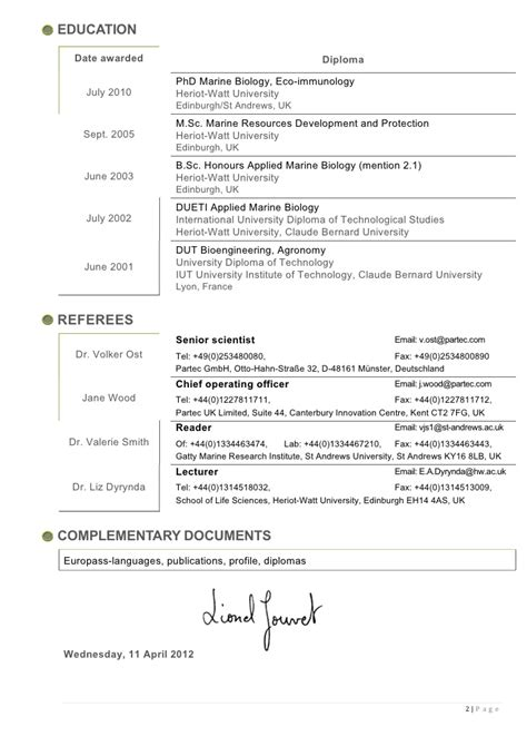 Phd Applicant Cv Sle by 100 Resume Format For Phd Application Milwaukee Resume