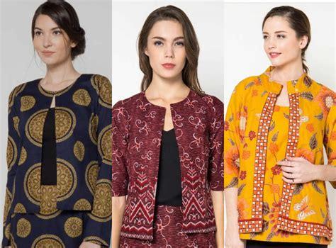 31 baju batik modern terbaru co id