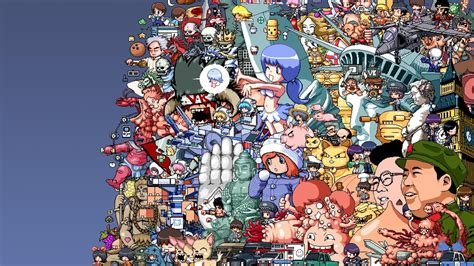 Anime Collage Wallpaper Hd - collage hd wallpapers and background images stmed net